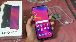 Unboxing Oppo A5 2020 White 3GB / 64GB Indonesia