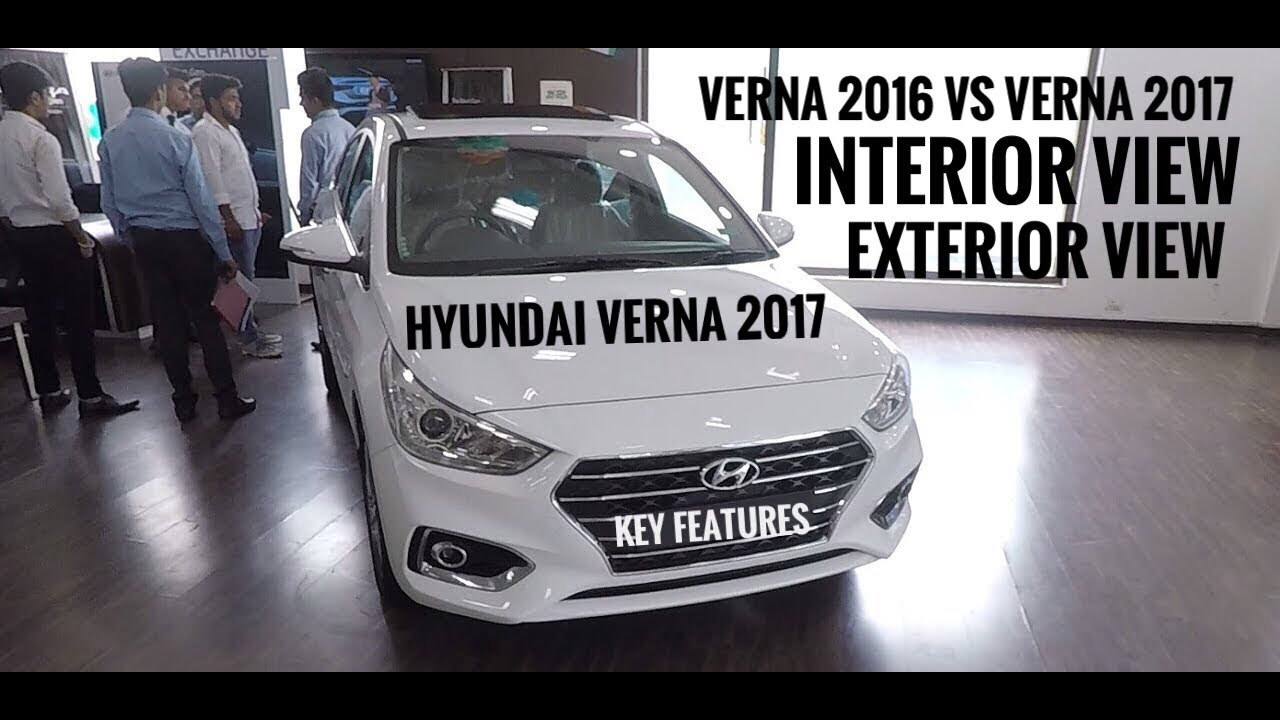 New Hyundai Verna 2017 2017 Hyundai Verna Hyundai