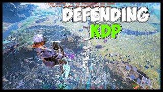 Defending KDP   Official PvP   ARK Survival Evolved Gameplay