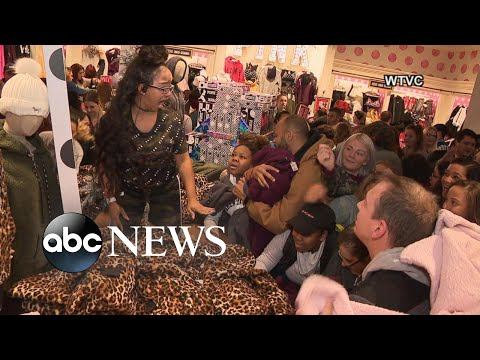 Black Friday doorbuster deals create chaos in stores