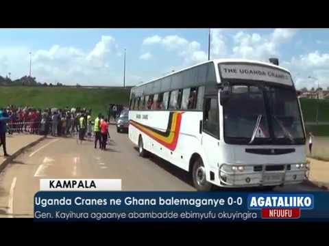 Uganda Cranes ne Ghana balemaganye 0-0