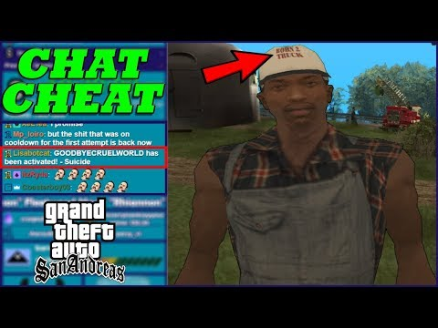 Viewers Control The Cheats During GTA San Andreas Speedrun!