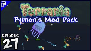 Terraria 1.3 Modded Playthrough | Tiki Totem & Queen Jellyfish Boss! [#27]