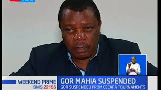 Gor Mahia suspended from CECAFA Kagame Cup for two years due to indiscipline