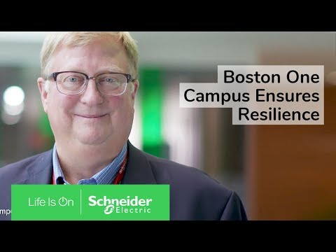 IoT EcoStruxure™ at Boston One Campus Ensures Resilience
