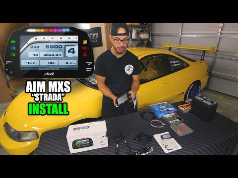 How To Install AIM Sports MXS Strada Dash - Step By Step