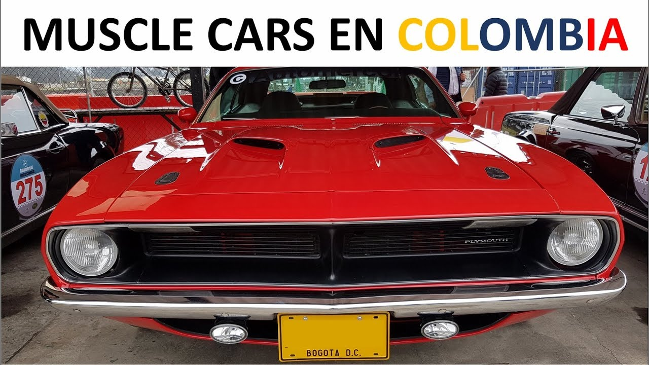The best muscle cars in colombia