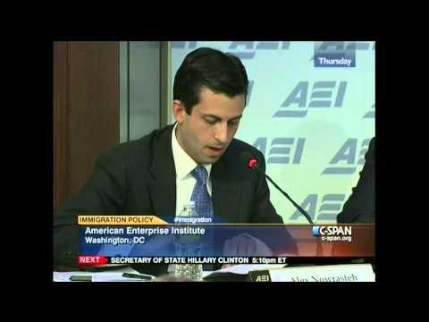 Alex Nowrasteh discusses Immigration Reform on C-SPAN