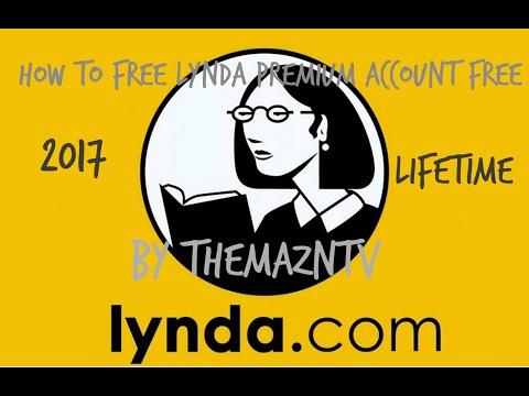 How To Get Lynda.com Premium Account For Free Lifetime ( 100 % Working)