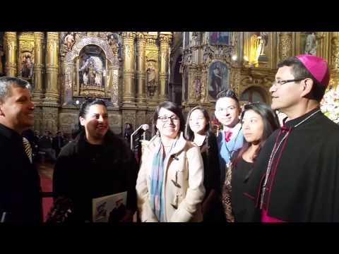 Angie Durrell 1 pruebas de sonido para tocar frente a Papa Francisco