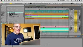 Watch me create my Ableton Live set file for the worship service
