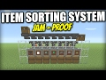 Minecraft Bedrock - ITEM SORTER 🗃️ ( Jam Proof )[ Tutorial ] MCPE / Xbox / Switch / Windows 10