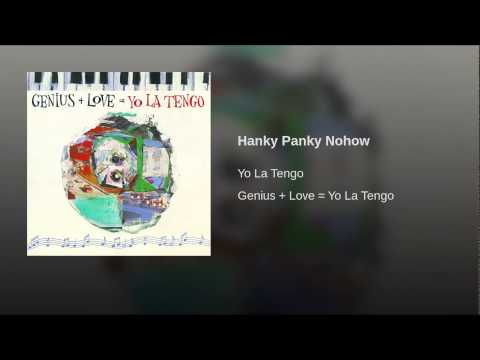 Hanky Panky Nohow