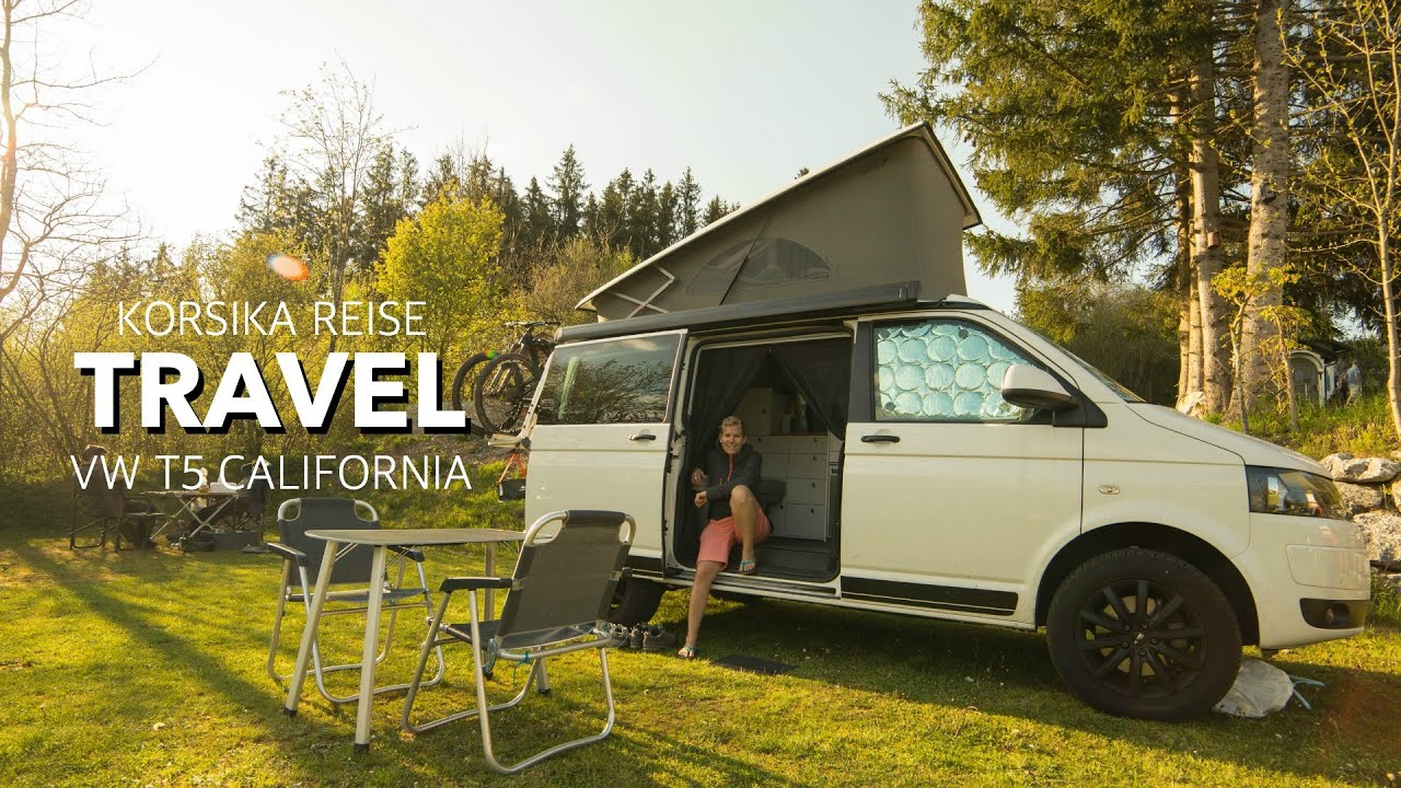 vw bus t5 california reise nach korsika camperx youtube. Black Bedroom Furniture Sets. Home Design Ideas