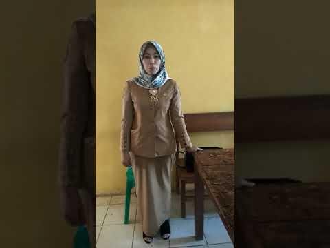 Guru Cantik SMKN 1 Linggo Sari Baganti Deklarasi Anti Hoak