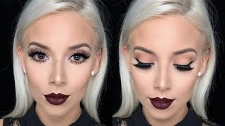 Go To Glam with Dark Lip! | LustreLux
