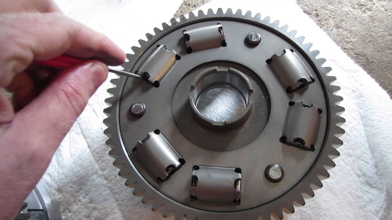 Yamaha Raider Clutch Type