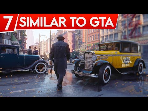 7  Best Open World Gangster & Mafia Games Similar To GTA SERIES | Hindi
