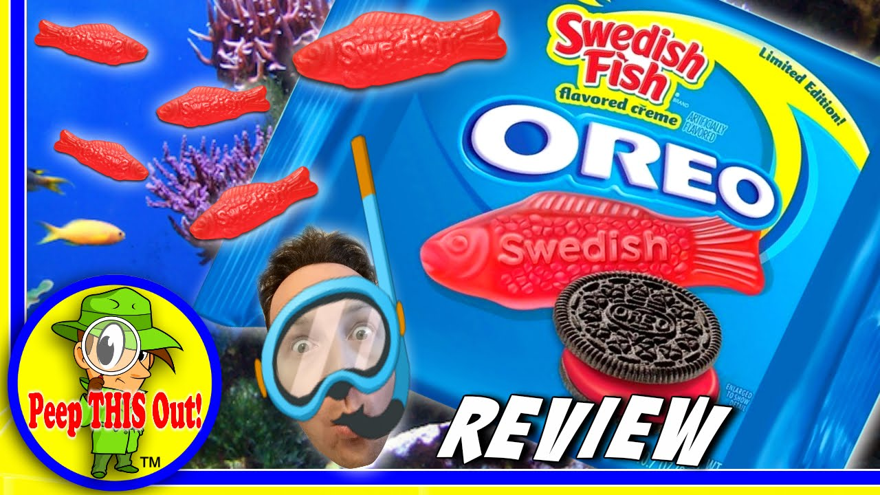 Oreo swedish fish review peep this out youtube for Swedish fish oreos where to buy
