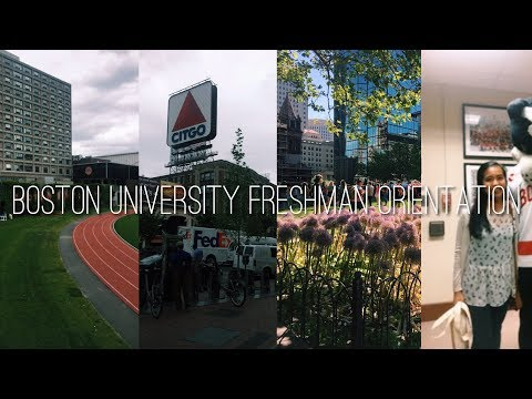 Boston University Freshman Orientation | Class of 2021