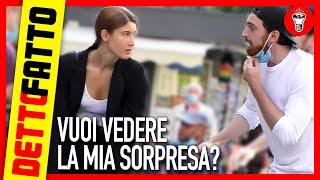Vuoi Vedere la Mia Sorpresa? - Detto Fatto Ep.24 - [Candid Camera] - theShow