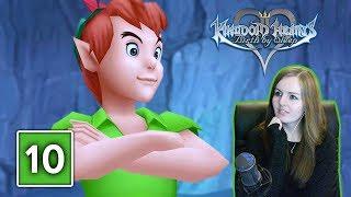 PETER PAN BOSS FIGHT | Kingdom Hearts Birth By Sleep PS4 Gameplay Walkthrough Part 10