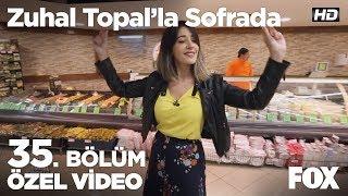 Ekin markette harmandalı oynuyor! Zuhal Topal'la Sofrada 35. Bölüm