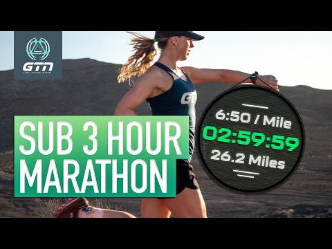 How To Run A Sub 3 Hour Marathon | Run Training & Tips