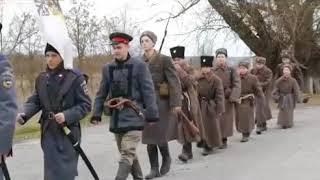 Поход памяти казаков погибших в гражданской войне