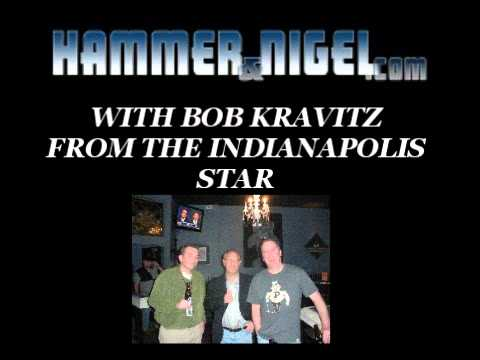HAMMER AND NIGEL WITH BOB KRAVITZ FROM THE INDY STAR