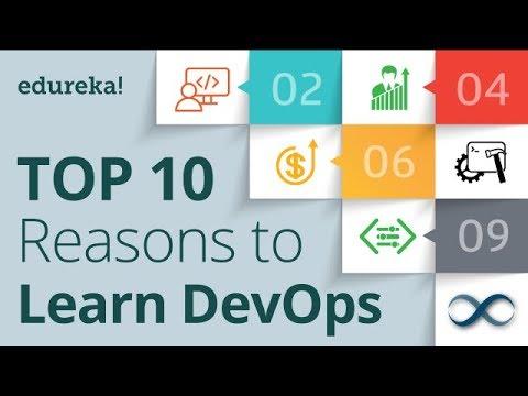 10 Reasons To Learn DevOps | Why Learn DevOps | DevOps Certification | DevOps Training | Edureka