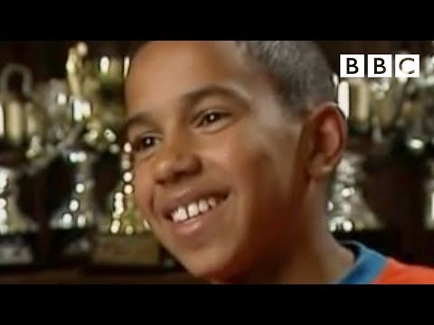 Young Lewis Hamilton on Black Britain - BBC Three
