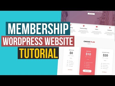 How to Make Membership and Community Website and News Blog with WordPress - Ultimate Membership Pro thumbnail