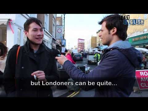 Talking to people in London  Easy English 4