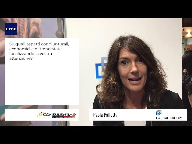 Consulentia 2019 - Paola Pallotta (Capital Group)
