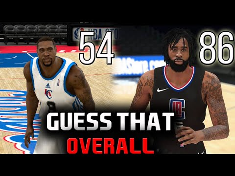 GUESS THAT OVERALL! (NBA 2K11 Edition) CHOOSE MY FORFEIT!
