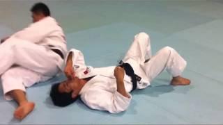 寝技 - Basic judo newaza (ground grappling) techniques in advanced application
