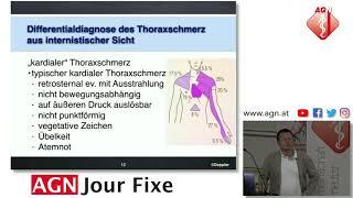 Differentialdiagnose des Thoraxschmerz aus internistischer Sicht - Reinhard Doppler