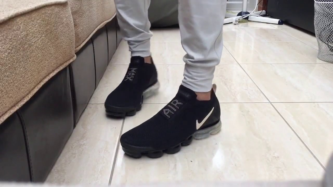 9ad9e0cf48c Nike Air Vapormax Flyknit Moc 2 Quick ON FEET - YouTube