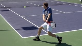 Andy Murray Ultimate Slow Motion Compilation - Forehand - Backhand - Serve - 2013 Indian Wells