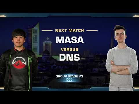 MaSa vs DnS TvP - Group B Stage 3 - WCS Leipzig 2018 - StarCraft II