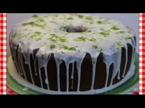 Key Lime Pound Cake Recipe ~ How To Make Key Lime Pound Cake ~ Noreen's Kitchen