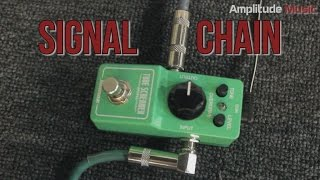 Tone Test:Ibanez Tube Screamer Mini + Zakk Wylde ZW45 Crybaby