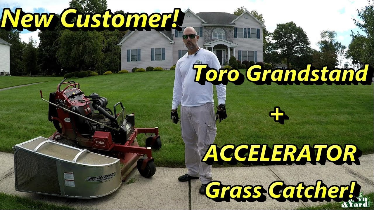 Lawn Care New Customer Toro Grandstand Accelerator