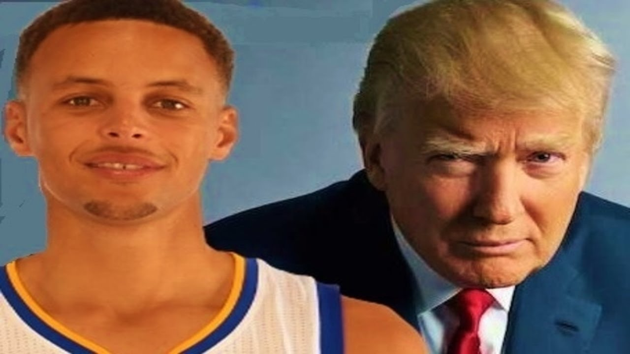 Image result for steph curry trump meme