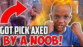I Got PICK AXED By A NOOB!!