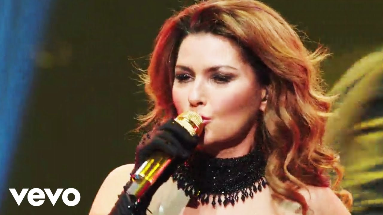 Shania Twain - Man I Feel Like A Woman Live - Youtube-6467