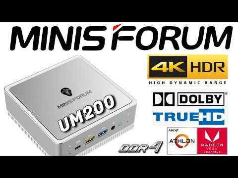 Minisforum UM200 AMD Athlon Windows 10 Mini PC Review