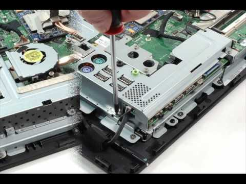 Hp 6000 Disassembly Part Two Wmv Youtube