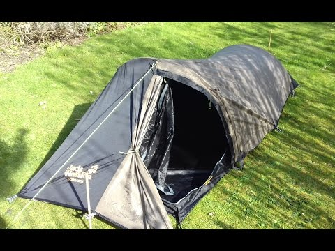1414 & NORTH RIDGE COL LITE 1 MAN TENT - YouTube